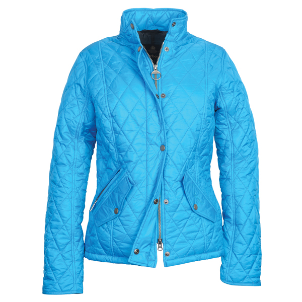 Blue Barbour Quilted Jacket Ladies