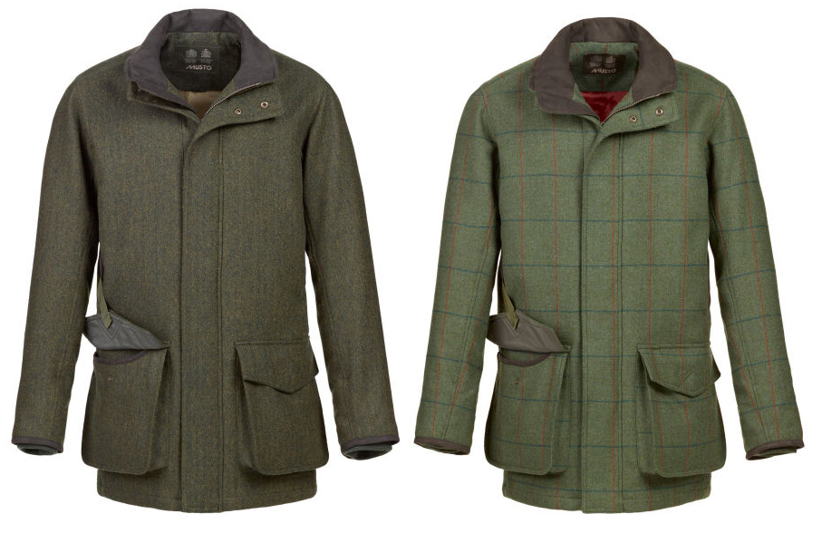 Musto Stretch Technical Tweed Jackets in Heath and Glenn at Philip Morris and Son