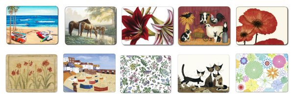 Placemats and Coasters at Philip Morris and Son