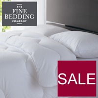 Fine Bedding Sale at Philip Morris and Son