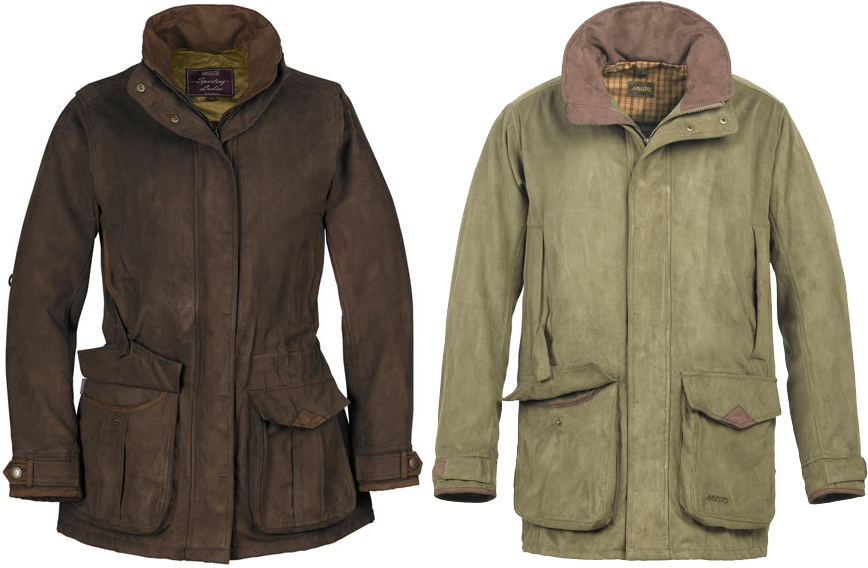 Ladies and Mens Musto Whisper Shooting Jacket