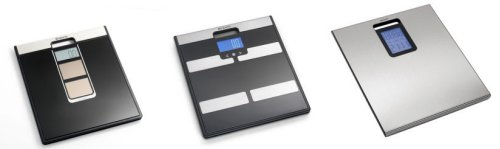 Brabantia Solar Powered Scales, Body Analyser Scales, Wall Clock Scales
