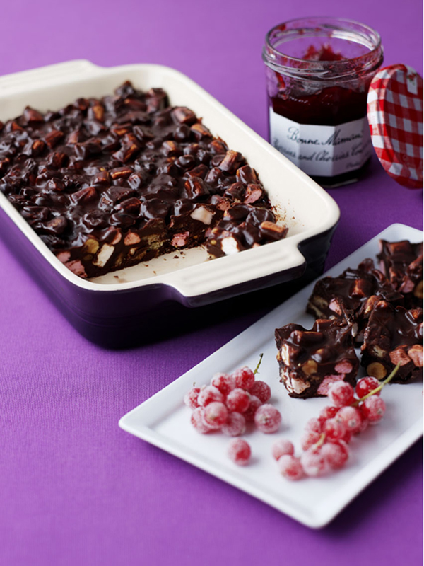 Rocky Road in a Le Creuset Stoneware Oven Dish