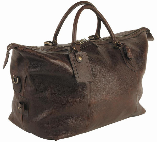 Barbour Leather Travel Explore Bag from Philip Morris