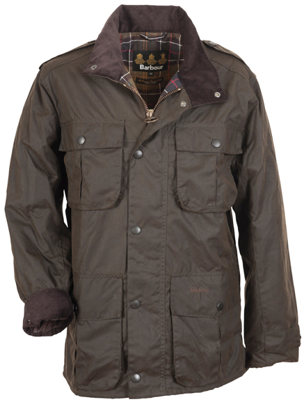 Barbour Men's Wax Trooper Jacket available from Philip Morris