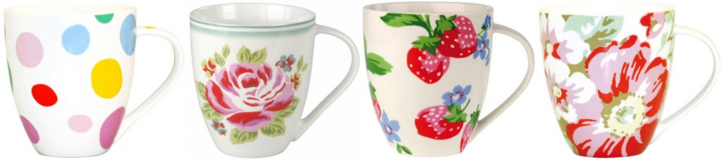 Cath Kidston Mugs, a great gift for Mother's Day