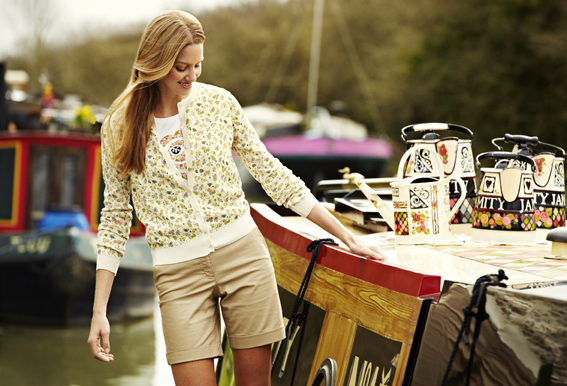 Julie Dodsworth Range for Barbour - Shoot on Calamity Jane