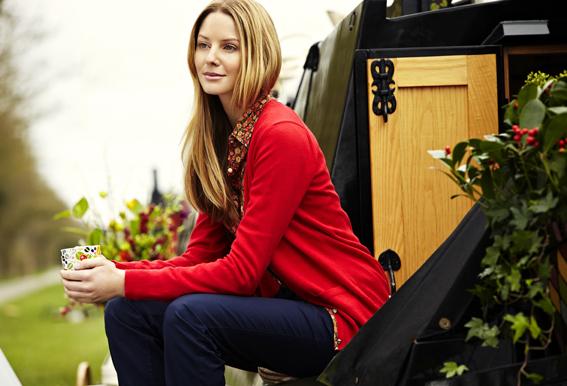 Julie Dodsworth Range for Barbour - Shoot on Calamity Jane