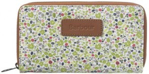 Barbour British Waterways Purse in Daisy Field
