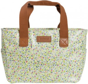Barbour British Waterways Shopper Bag in Daisy Field