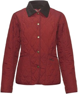 Barbour Eliza Summer Liddesdale Jacket in Teracotta and May Fair