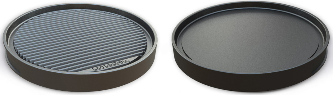 Double Sided Teppanyaki Plate - Versatile cooking with your LotusGrill!