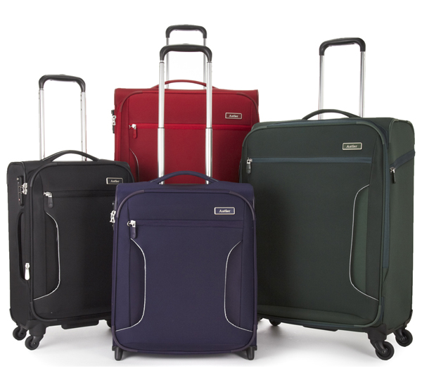 Antler Cyberlite luggage is so light and spacious it gives you freedom to pack what you want