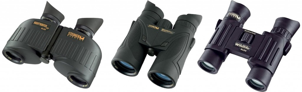 A wide range of Binoculars for the avid sportsman