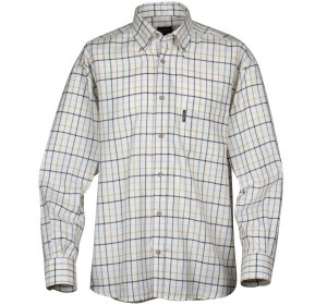 The Le Chameau Woodbridge Shirt barely needs ironing - perfect for travel!