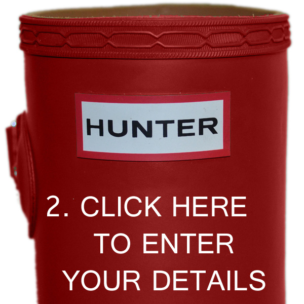 Twitter Competition: Win a Pair of Hunter Original Wellington Boots with Philip Morris and Son