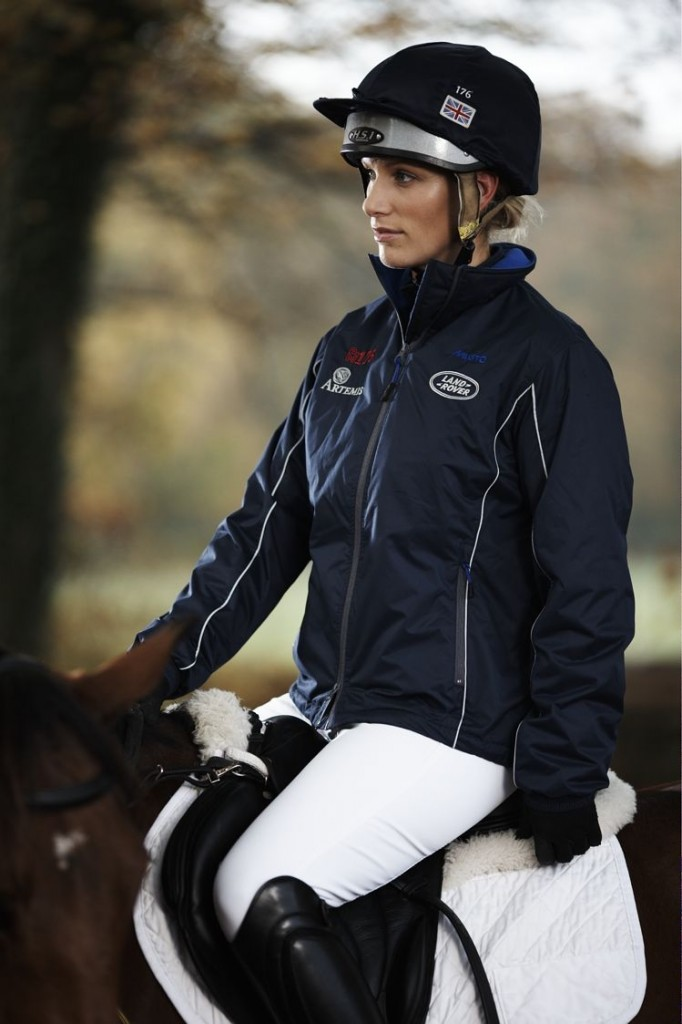 Zara Philips, Musto Brand Ambassador and designer of the ZP176 Collection