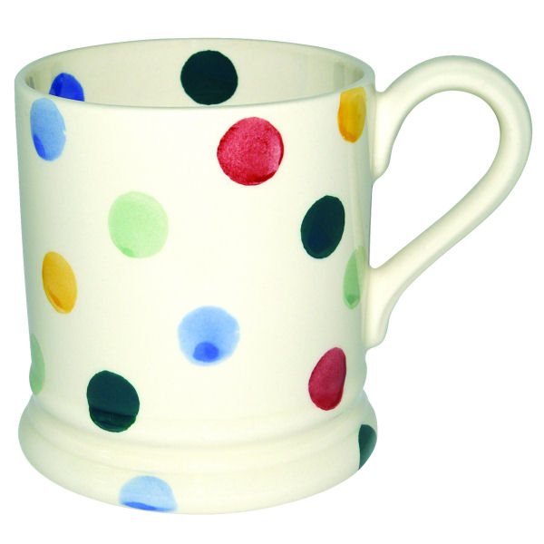 Emma Bridgewater Polka Dot Half Pint Mug as a gift for her - £17.95