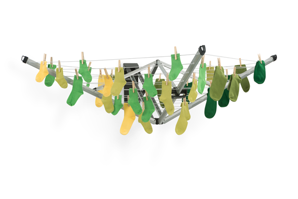 Brabantia Wallfix Airer Washing Line available at Philip Morris and Son