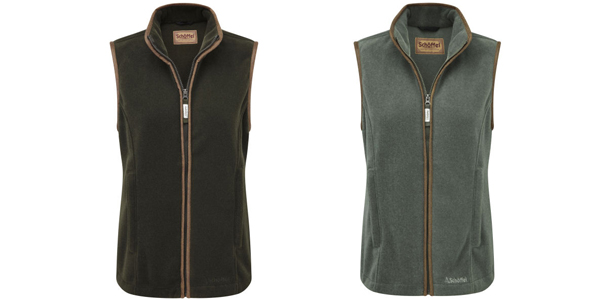 Ladies Schoffel Lyndon fleece gilet available at Philip Morris and Son