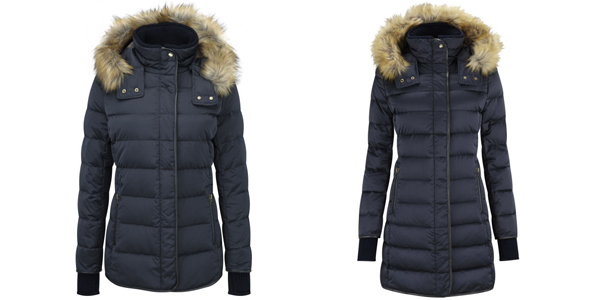 Ladies Schoffel Mayfair Down and Kensington Down coat available at Philip Morris and Son