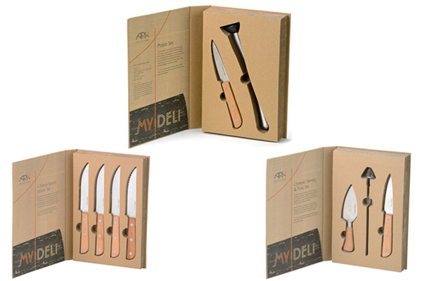 Give your dinner party a rustic twist with a APK My Deli box set