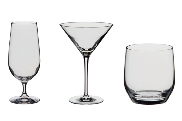 Drink your beverages in style with Dartington crystal glasses from Philip Morris and Son