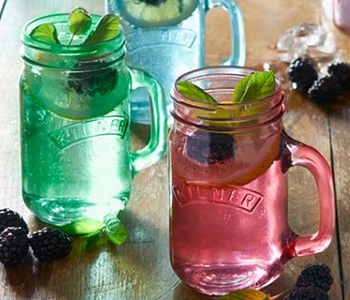 Give your BBQ a retro twist with these Kilner Handled Jars available at Philip Morris and Son