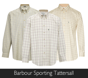Barbour Sporting Tattersall Shirts available at Philip Morris and Son