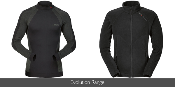Musto Evolution Range at Philip Morris and Son