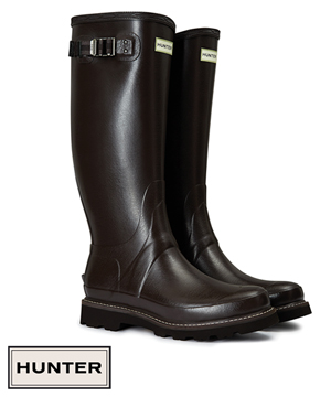 Hunter Balmoral II Wellingtons available at Philip Morris and Son