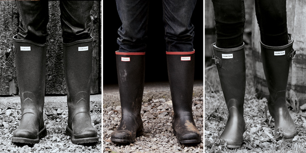 Hunter Balmoral Wellington Boots at Philip Morris and Son