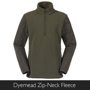 Men's Musto Dyemead Zip-Neck Fleece at Philip Morris and Son