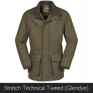 Musto Stretch Technical Tweed Glendye available at Philip Morris and Son