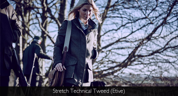 Musto Ladies Stretch Technical Tweed available at Philip Morris and Son