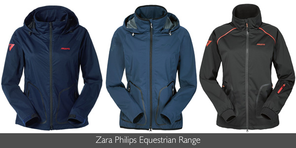 Musto Zara Philips Equestrian Range available at Philip Morris and Son