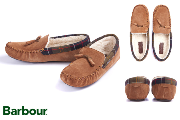 Cosy Barbour Alice Slippers at Philip Morris and Son