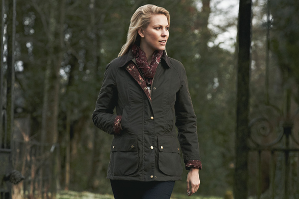Ladies Barbour Tors Wax Jacket For AW15