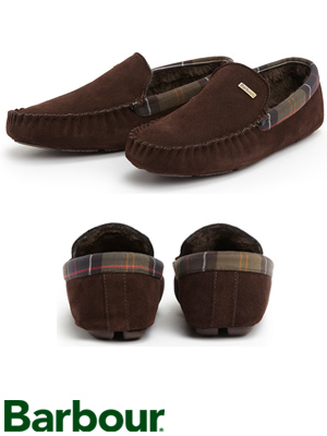 Ultra comfortable Barbour Monty Suede Slippers