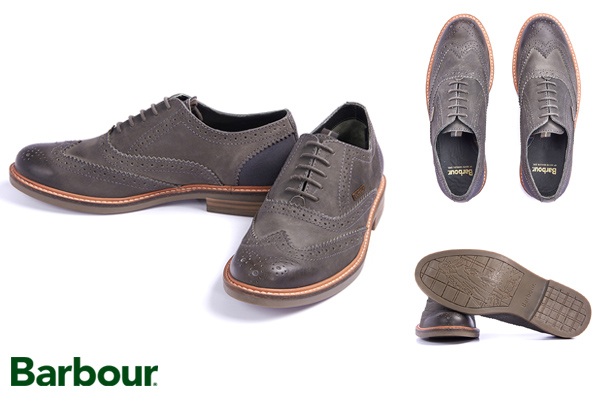 Barbour Redcar Brogues at Philip Morris and Son