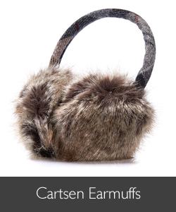 Barbour Carsten Fur Earmuffs available at Philip Morris and Son