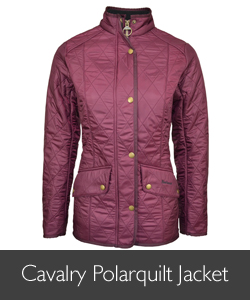 Barbour Cavalry Polarquilt available at Philip Morris and Son