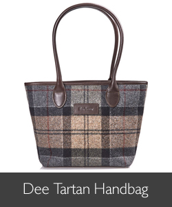 Ladies Barbour Dee Tartan Handbag for AW15
