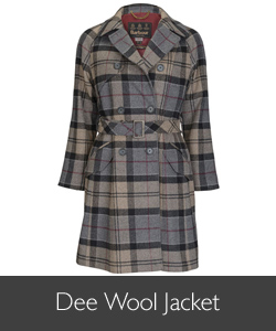 Barbour Dee Wool Jacket available at Philip Morris and Son