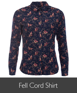 Barbour Fell Cord Shirt available at Philip Morris and Son