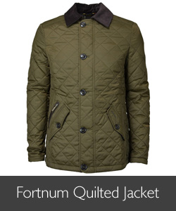 Men's Barbour Fortnum Quilted Jacket available at Philip Morris and Son