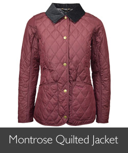 Barbour Montrose Quilt Jacket available at Philip Morris and Son