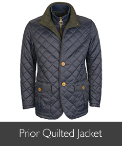 Barbour Prior Quilted Jacket for AW15