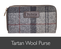 Ladies Barbour Tartan Wool Purse for AW15