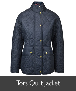 Ladies Barbour Tors Quilted Jacket for AW15